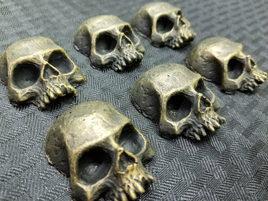 Skulls (Resin) - Set of 6