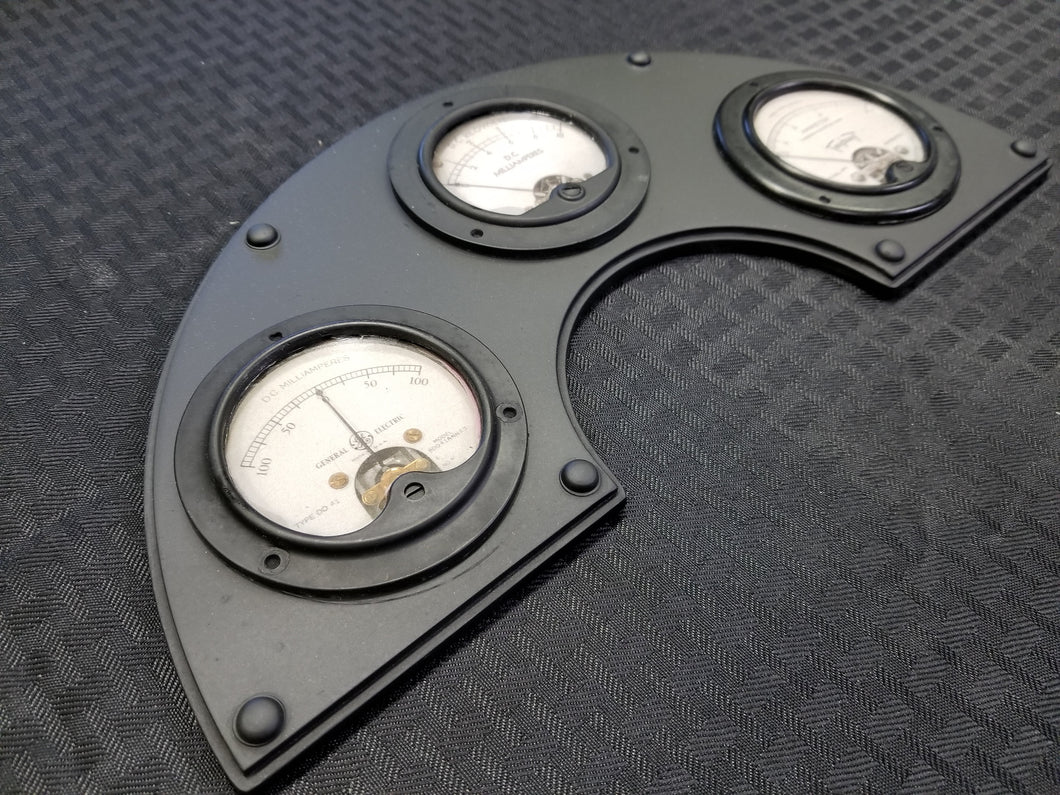 Industrial Arched Gauge Panel