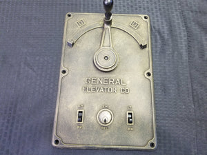 "Elevator Manual Control Lever ""Resin Replica"""