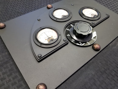 Large Industrial Gauge Panel