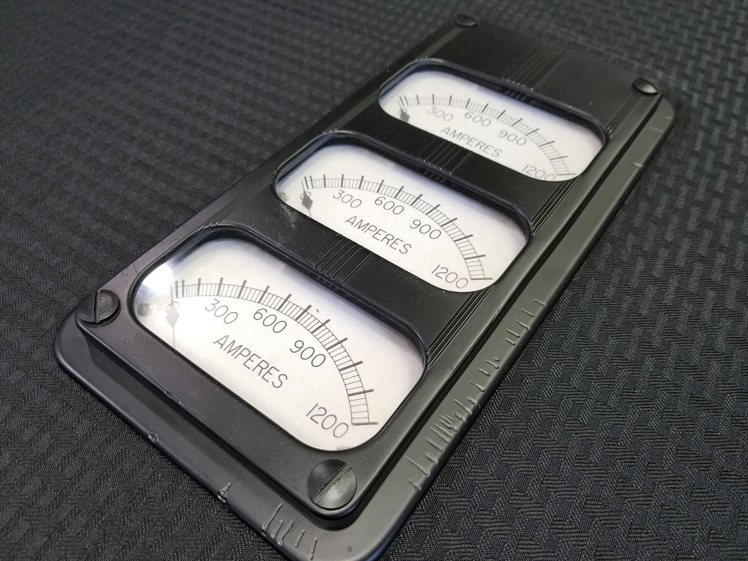 Large Triple AMP Gauge