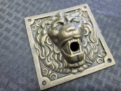 Lion Doorbell/Button Plate
