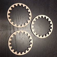 Load image into Gallery viewer, Wooden Interior Teeth Ring Gears - Steampunk