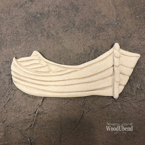 Large Wooden Boat - 2134