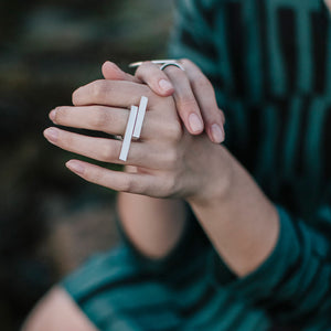 Embrace Wrap Ring - Sterling Silver