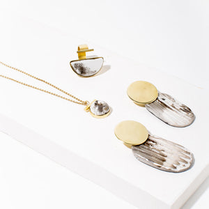Collect them all. Sustainable jewelry for your capsule wardrobe.