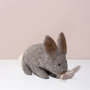 Handfelted easter bunny by MULXIPLY.