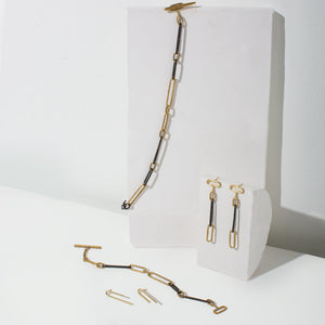 Modern, edgy chain jewelry by MULXIPLY.