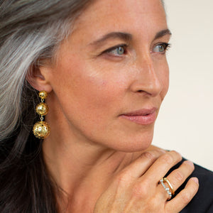 Stunning statement earrings by MULXIPLY for your ethical fashion wardrobe.