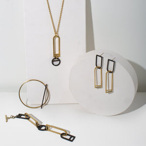 Ethically made statement jewelry by MULXIPLY.