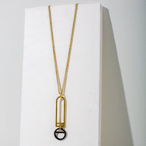 Window Pendant Necklace by MULXIPLY.
