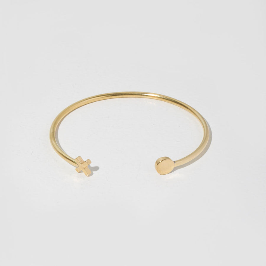XO Strand Cuff Bracelet by MULXIPLY is handcrafted with the highest quality metals