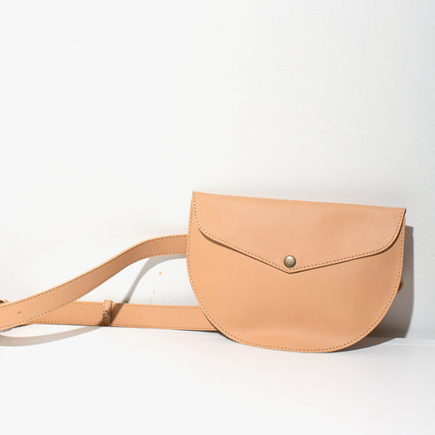 Leather Belt Bag | Tan