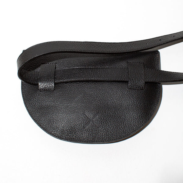 Leather Belt Bag | Black