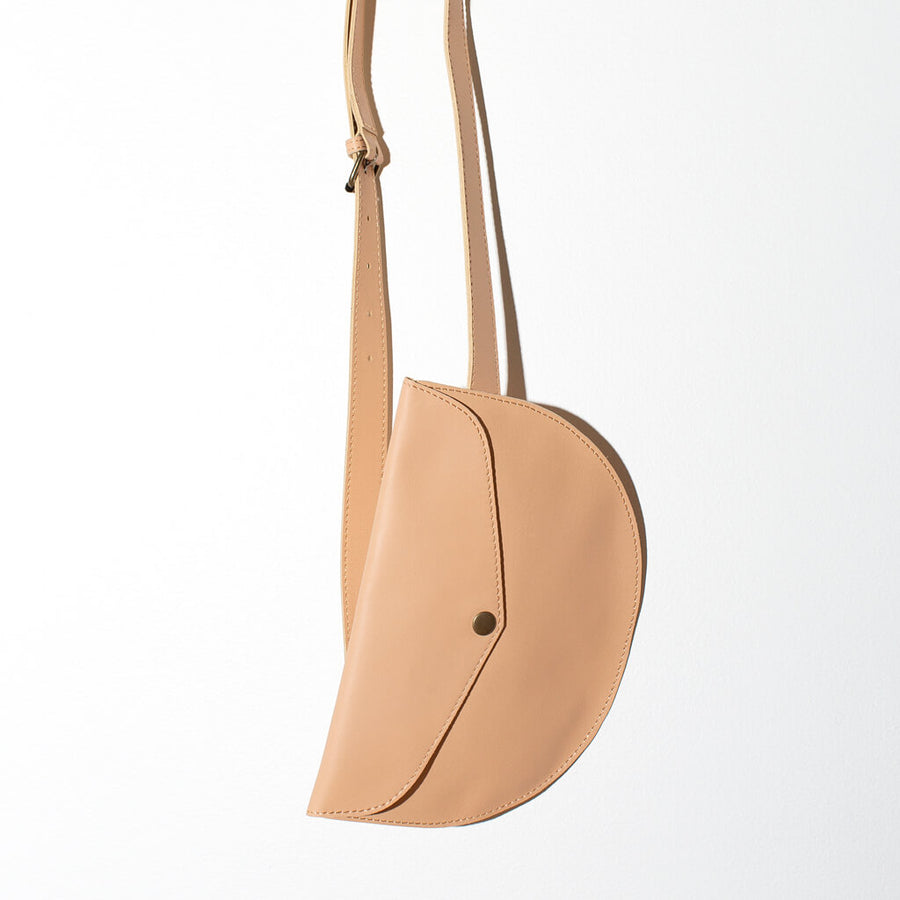 MULXIPLY Leather Belt Bag - Tan