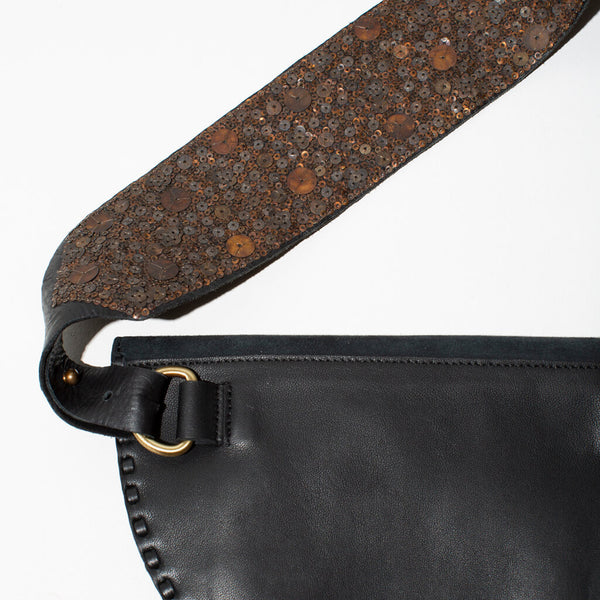 Pia Sequined Belt Bag