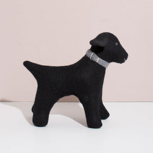Hand Felted Black Labrador - Large