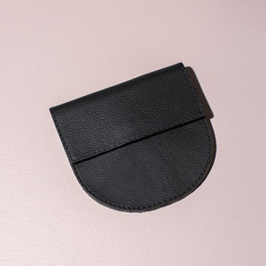 Leather Coin Purse | Black
