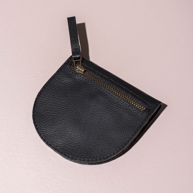 Leather Coin Purse | Black 1
