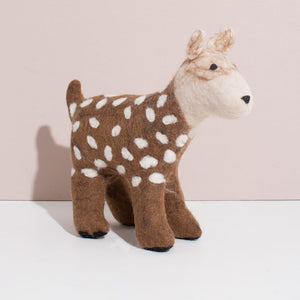 MULXIPLY Hand Felted Deer - Large Stuffed Animals