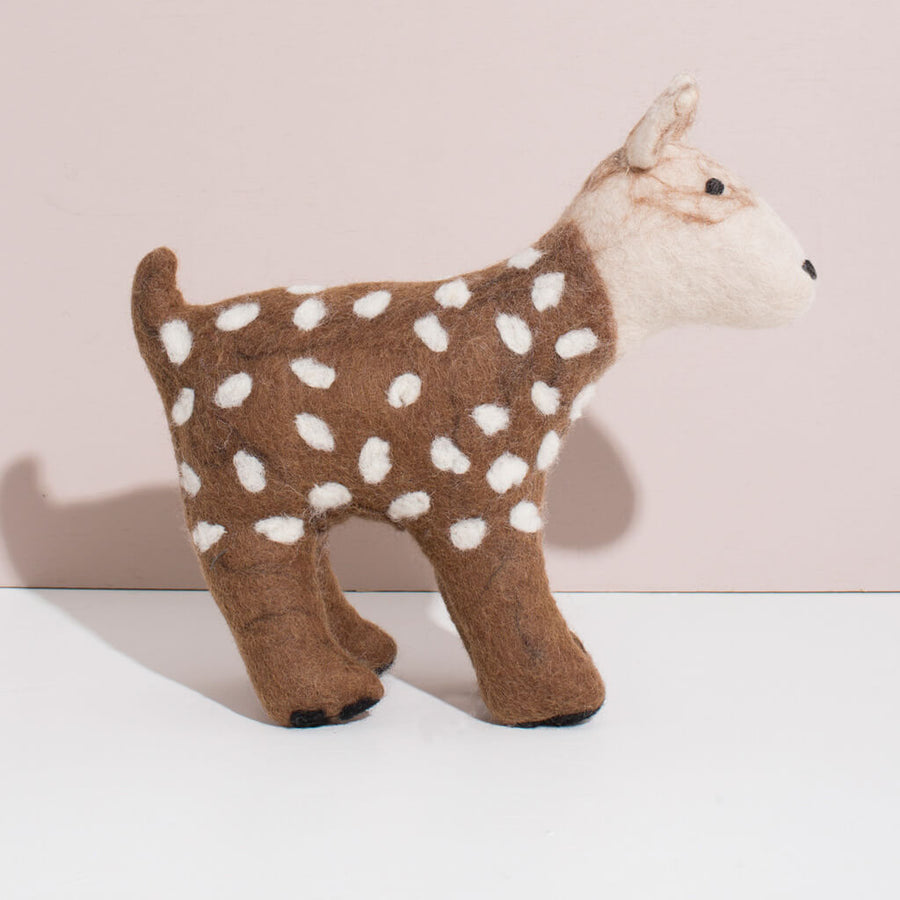 Hand Felted Large Deer