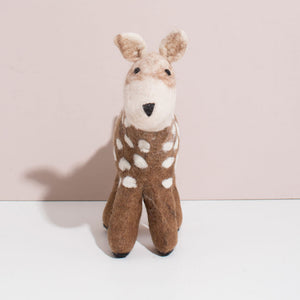 Hand Felted Deer - Large
