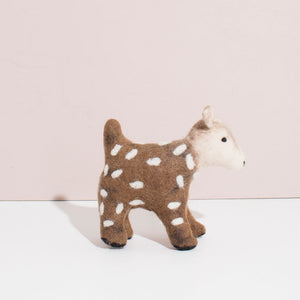 Hand Felted Deer - Small