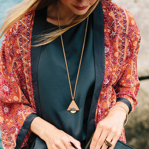 Fair trade jewelry ethically made by artisans in Nepal by MULXIPLY