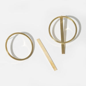 Embrace 2-in-1 Earrings | Brass