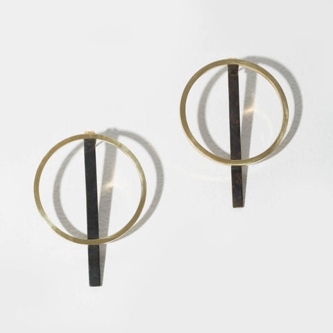 Embrace 2-in-1 Earrings | Mixed Metals