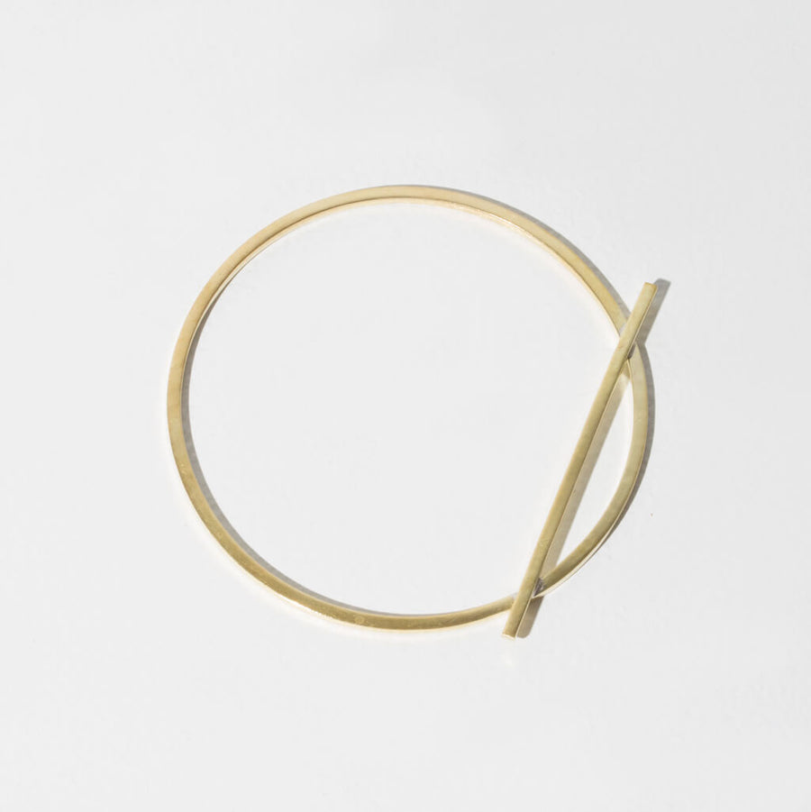 MULXIPLY Embrace Bangle - Brass