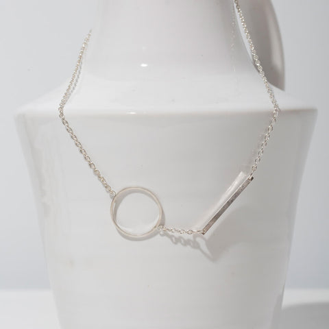 Embrace Link Necklace | Sterling
