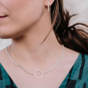 Embrace Link Necklace | Sterling Silver