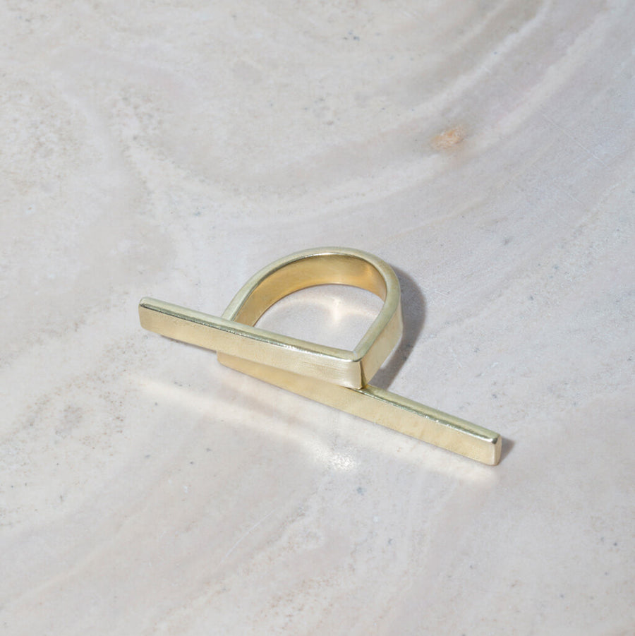MULXIPLY Embrace Wrap Ring - Brass