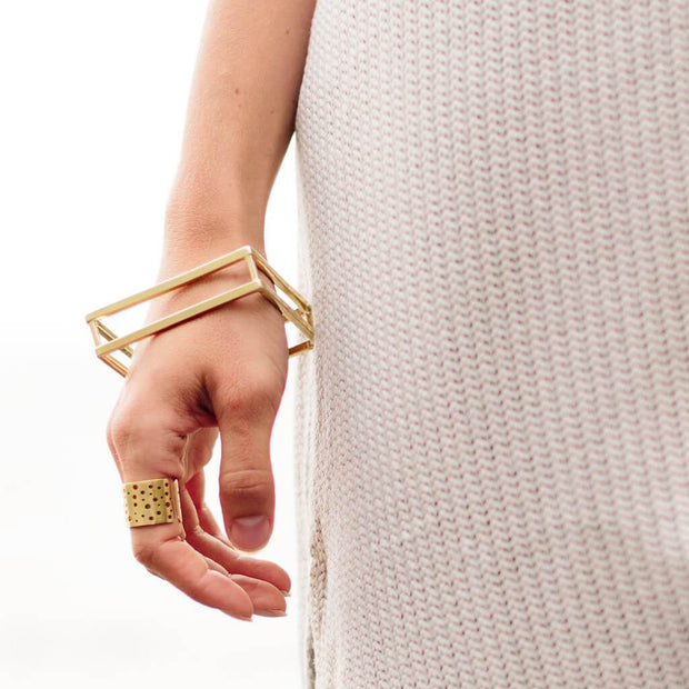 Foundation Bangle | Brass or Sterling Silver 1