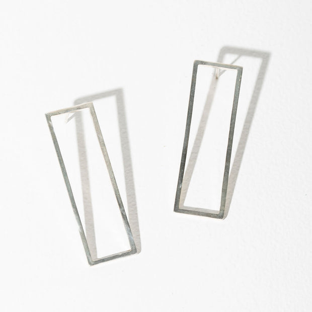 Foundation Convertible Earrings | Sterling 1