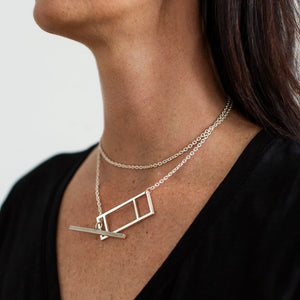 Foundation Lariat Necklace | Sterling