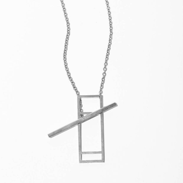 Foundation Lariat Necklace | Sterling 1