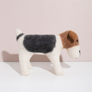 Hand Felted Terrier - Large