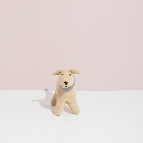 Hand Felted Small Golden Retriever Puppy