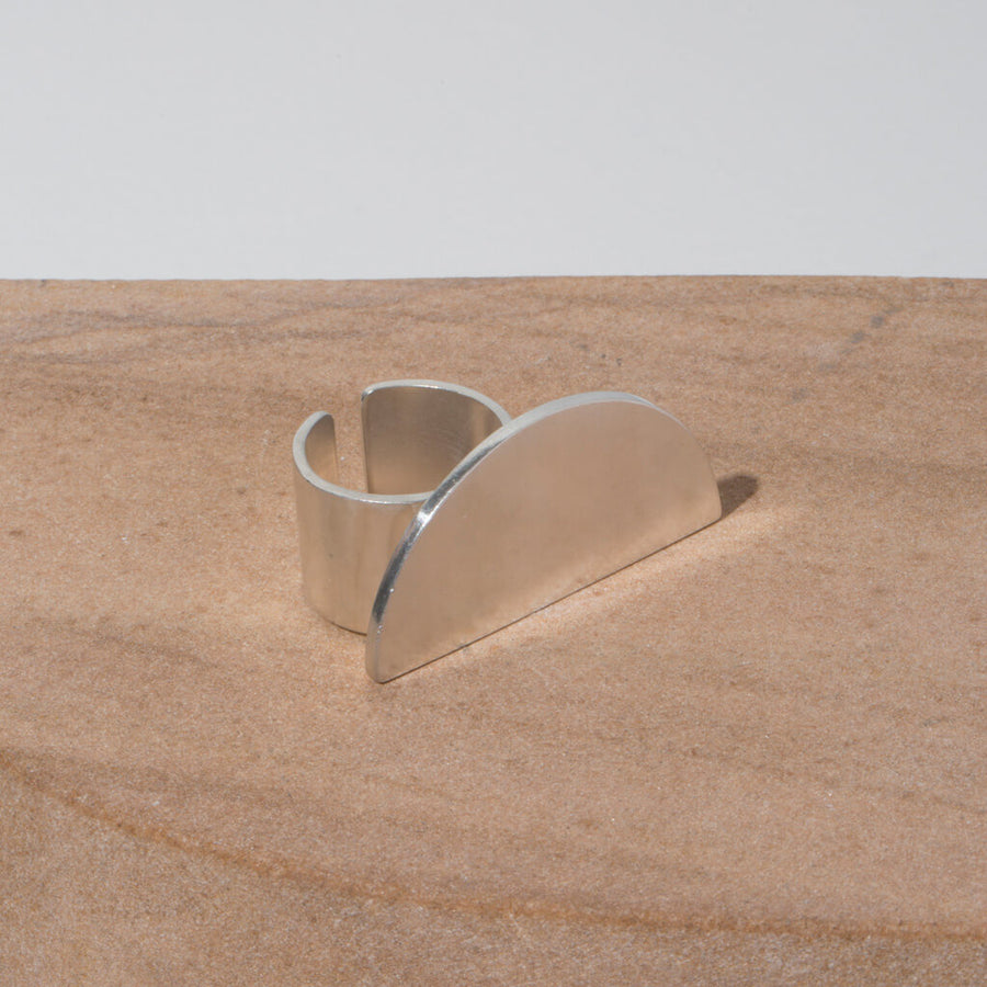 balance half circle ethically made jewelry by MULXIPLY