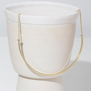Horizon Choker Necklace - Sterling Silver