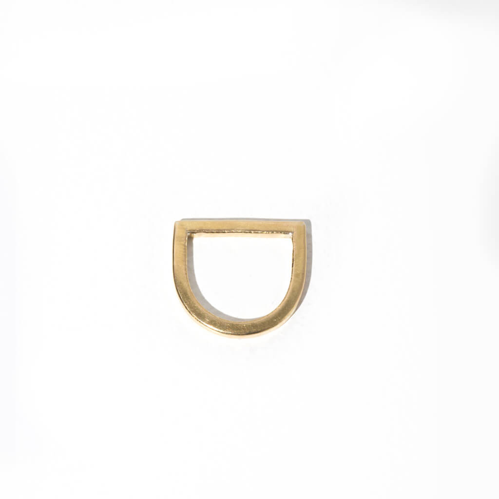MULXIPLY Minimalist Horizon Ring