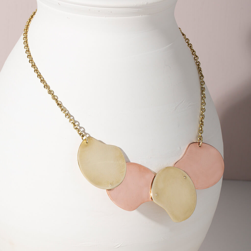 MULXIPLY Palette Statement Necklace