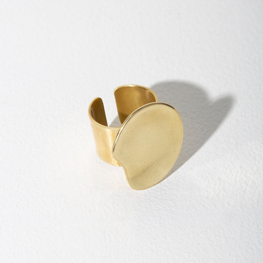 MULXIPLY Palette Adjustable Ring - Brass