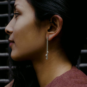Rain Earrings - Sterling Silver