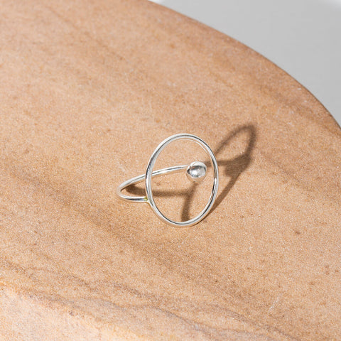 Ripple Adjustable Ring | Sterling