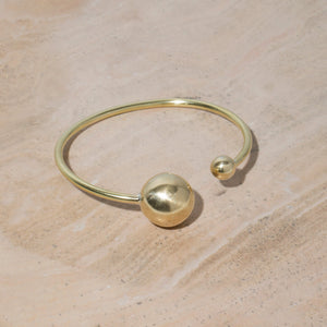 Strength Adjustable Bangle | Brass or Sterling