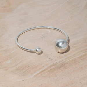 Strength Adjustable Bangle - Sterling Silver
