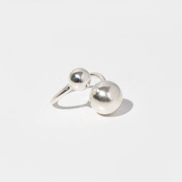 Strength Adjustable Ring | Sterling Silver 1